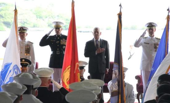 美军太平洋司令部更名印太司令部。(图源:AFP)