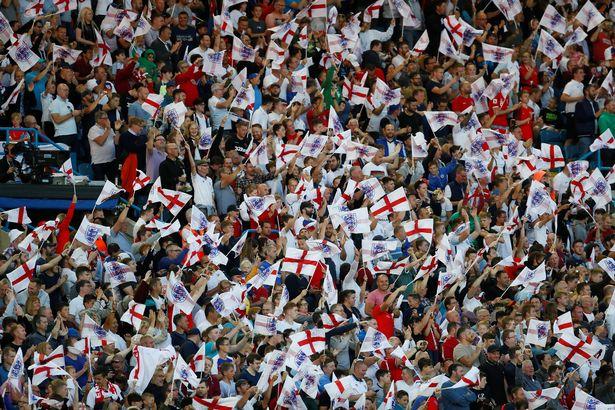 英格兰球迷购世界杯门票3万余张,比美国少3倍