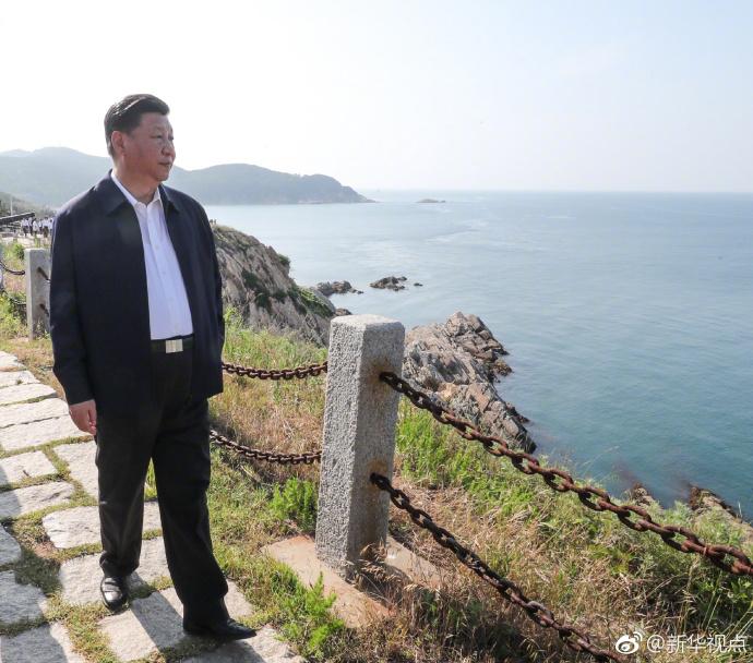 凤凰独家视频|习近平会见连战_分享刘公岛之行感受