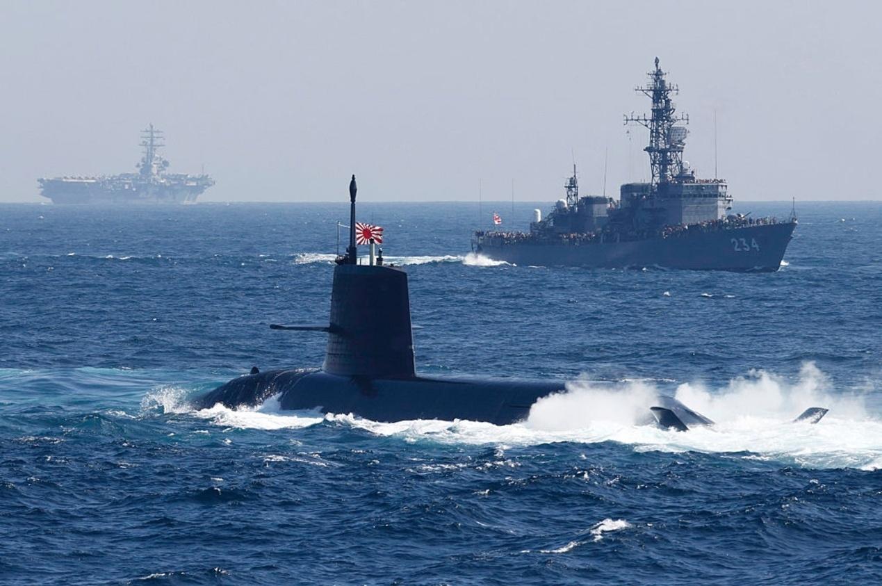 日本进攻型武器闯入南海,除了收获绝望终将一无所获!