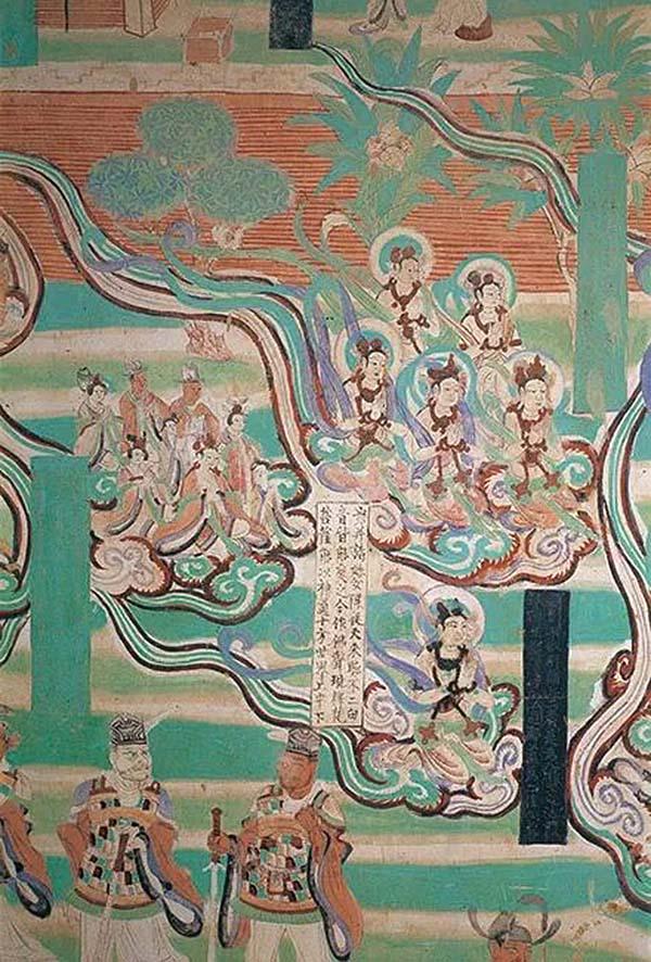 """敦煌壁画中的""""说走说走"""":看佛国与古人天马行空的出行方式"""