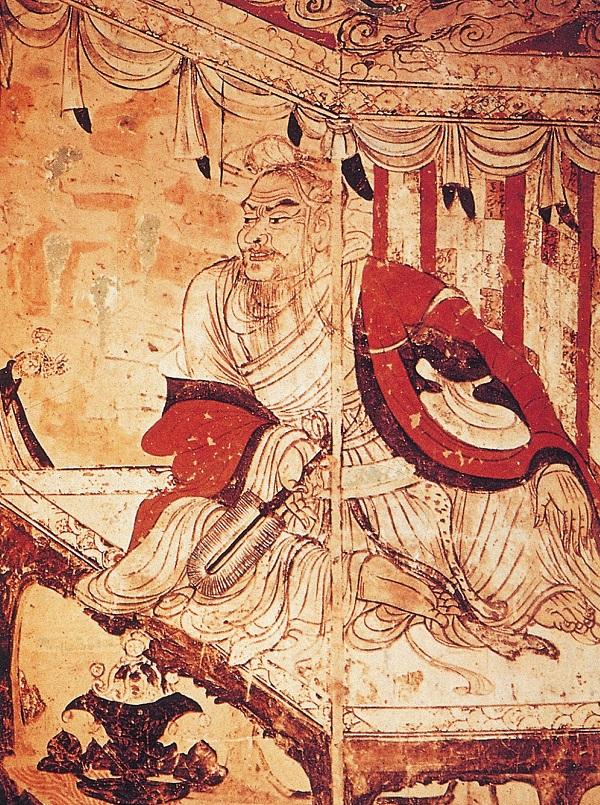 原台北故宫博物院副院长李霖灿读画 关于顾恺之和维摩诘像