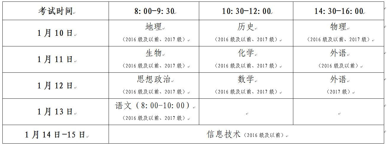 山东高中会考10月22日起报名
