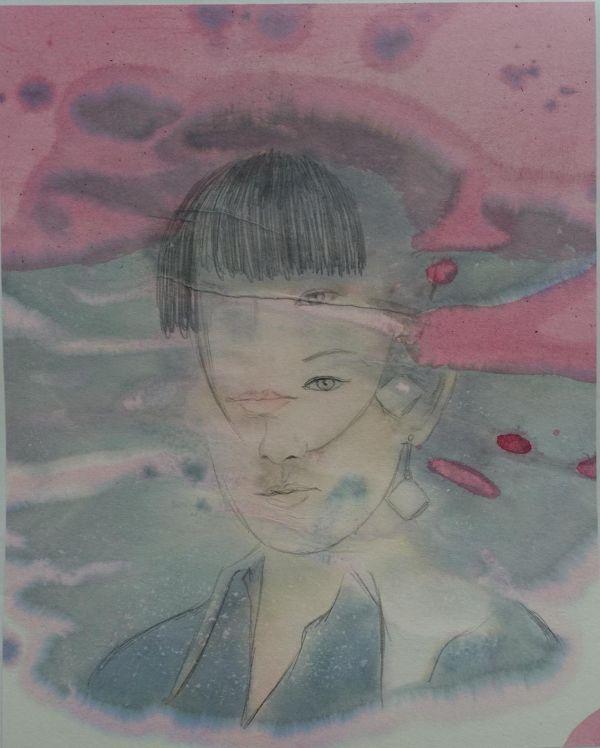 中国青年艺术家王羽静荣登纽约时代广场
