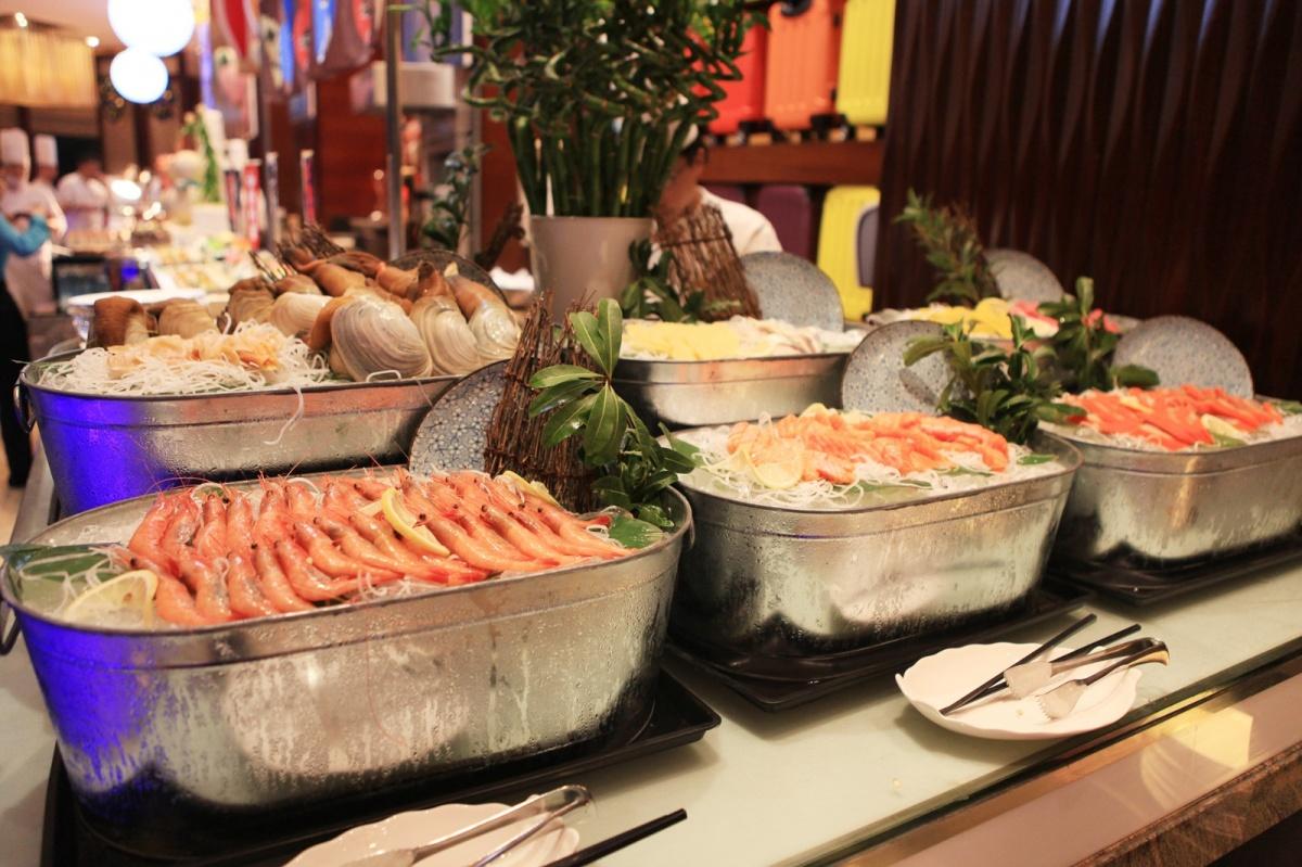 温州香格里拉大酒店瓯咖啡西餐厅自助餐全面升级啦!