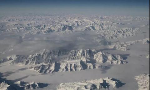 美国宇航局拍摄的格陵兰岛的壮观景象(NASA)
