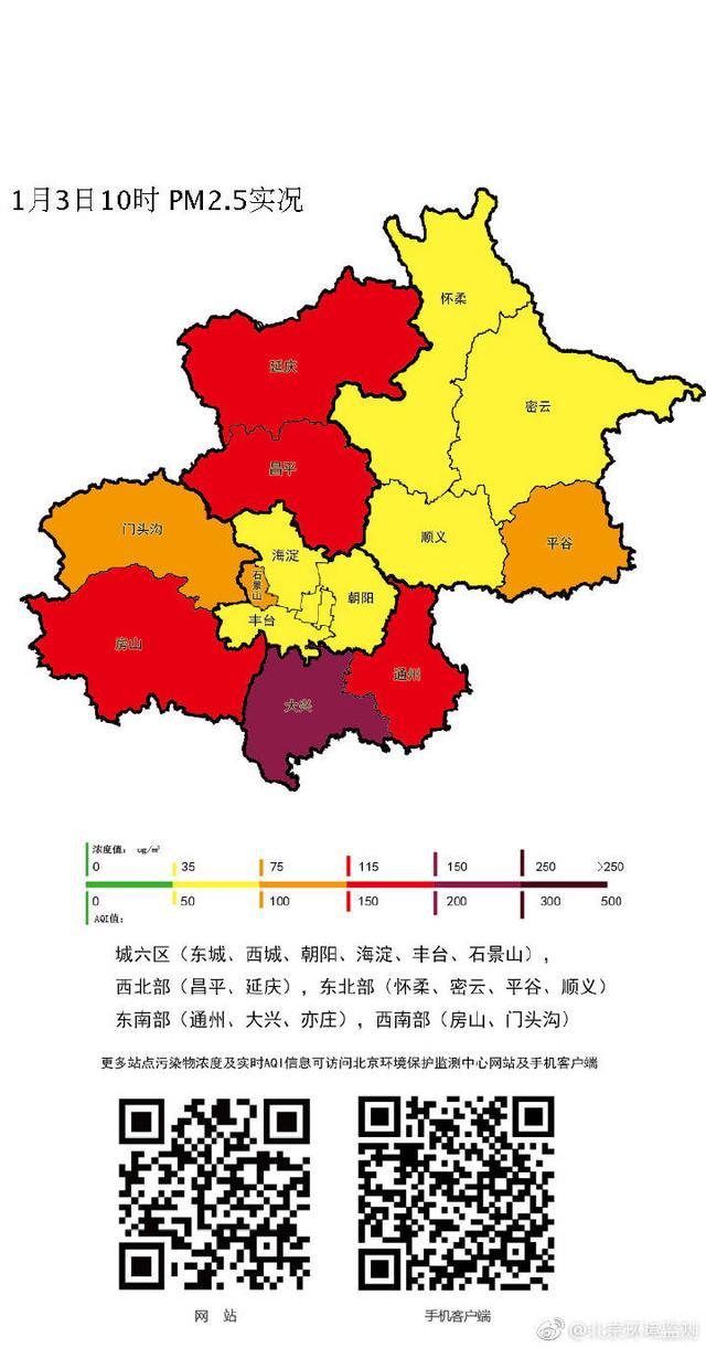 北京局地陷重度污浊
