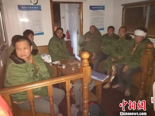 珠江口大虎山附近水域一货船沉没8人获救3人失踪