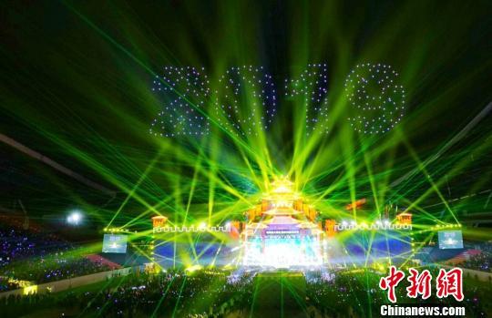 粤港澳大湾区(肇庆)光影艺术节万众跨年狂欢