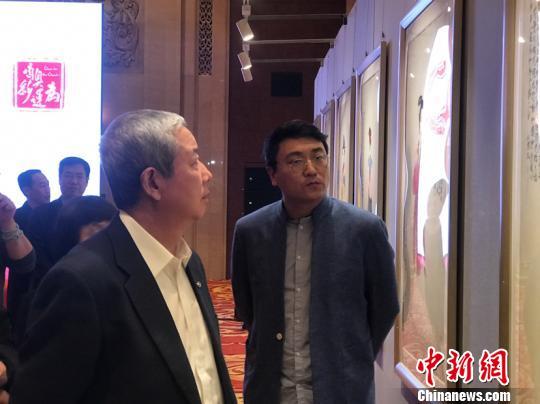 """中国画家将为瑞士奥林匹克博物馆送去""""中国红"""""""