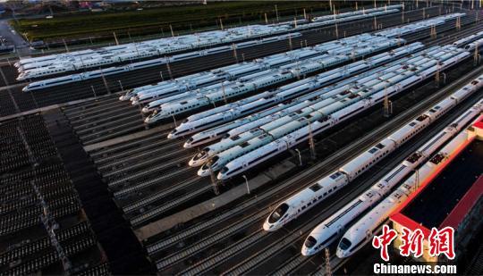 图为哈牡高铁。(中国铁路哈尔滨局集团有限公司提供)