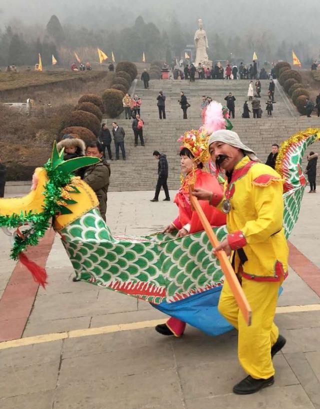 """冰雪缘、灯光节、传统社火_5景区娲好戏纷呈点燃""""中国年"""""""