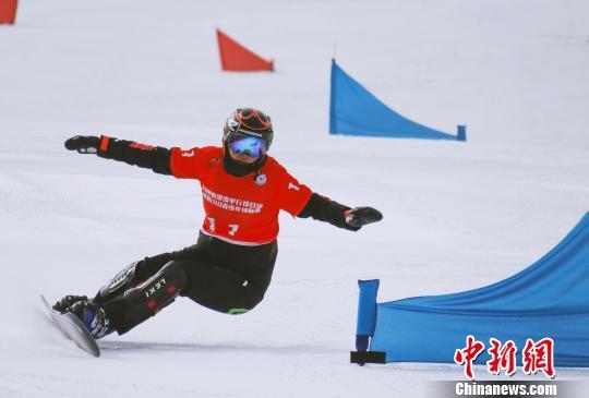 全国单板滑雪平行项目暨U18青少年锦标赛在崇礼落幕(图)