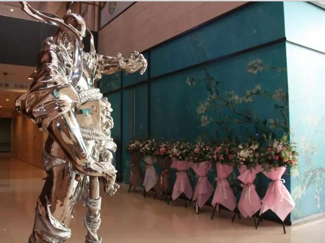 李志平书法艺术实验展北京站在北京达美中心开幕