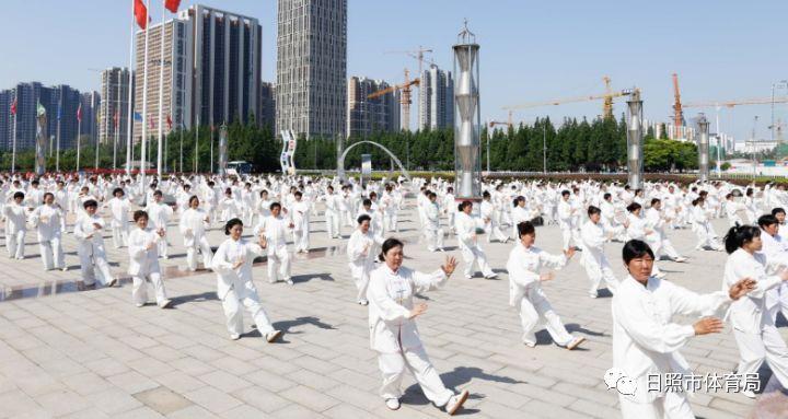 美好周末健康起来!全国老年人太极拳健身推广展示大联动活动(日