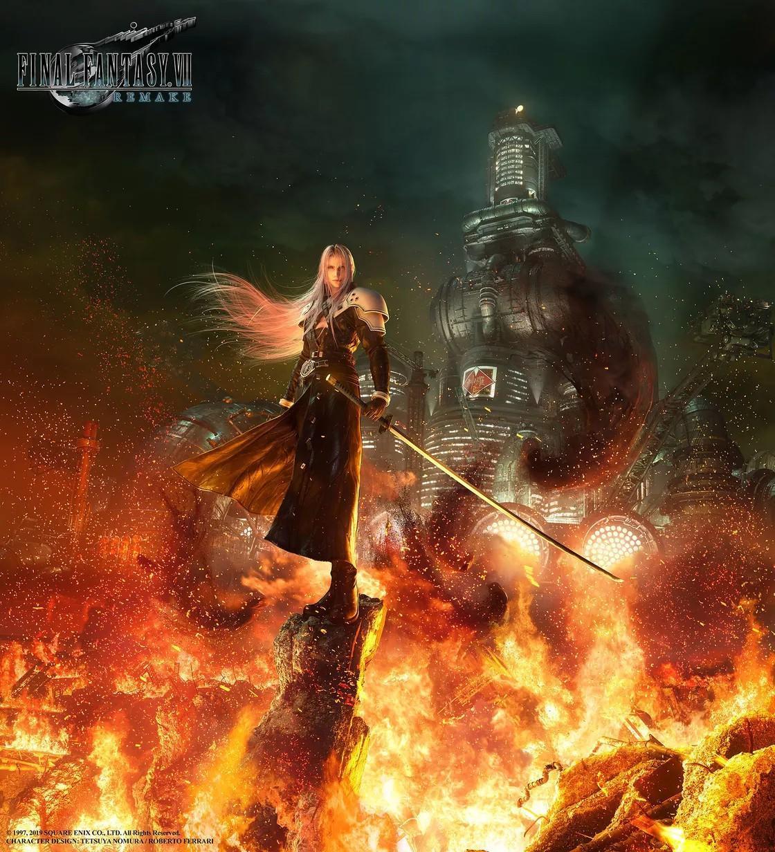 玩家慘了《最終幻想7重制版》將可能分多次發售
