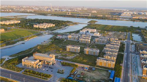 东营港经济开发区居民小区。