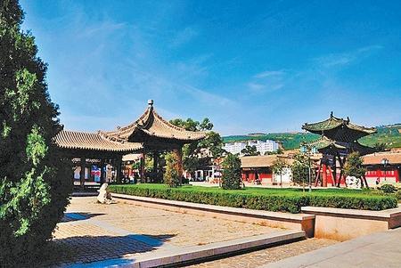 甘肃 走进伏羲庙 与华夏始祖来场亲密接触