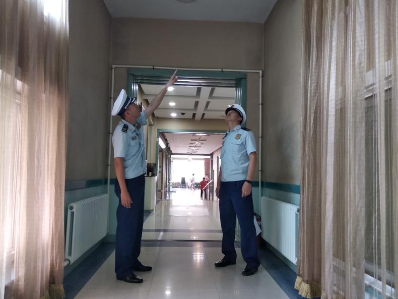 辽宁省锦州市爱心医院积极整改重大火灾隐患