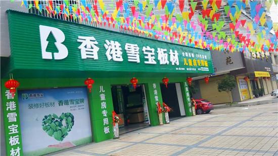 板材十大品牌香港雪宝儿童房专用板临武盛大开业