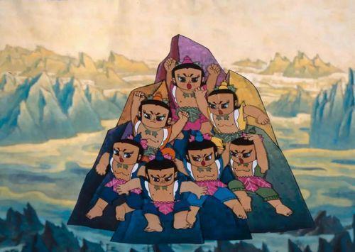 新版《葫芦娃》自带磨皮美瞳 7男找爷爷能讲26
