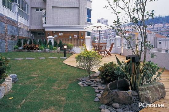 舒适别致 阳台花园设计效果图