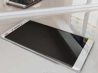 note2要来小米双曲面屏手机渲染图曝光