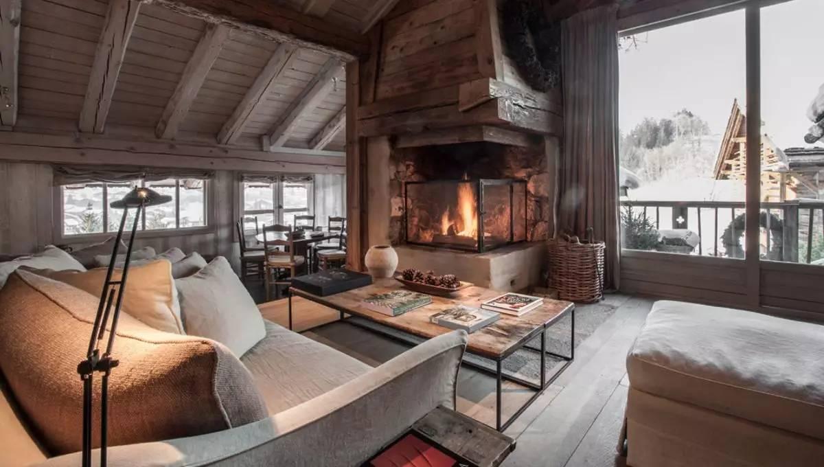 勃朗峰下的仙居——赞尼尔小木屋酒店