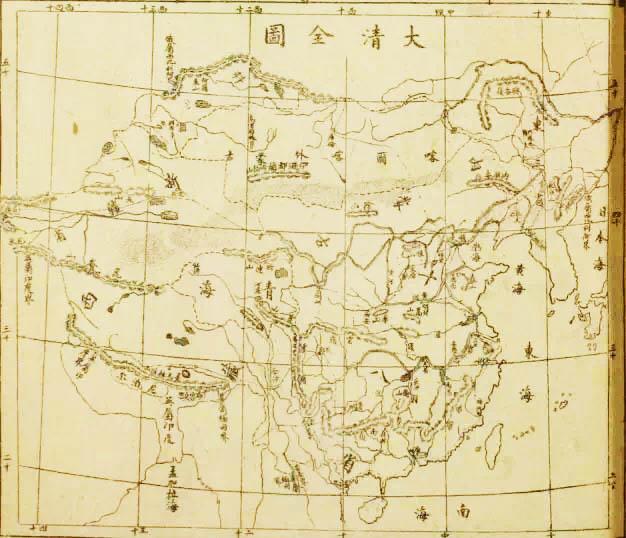 晚清课本中的世界地图是什么样?