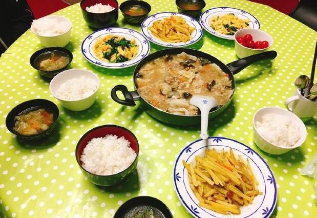 福原爱给老公做美食当了中国媳妇厨艺也长进了