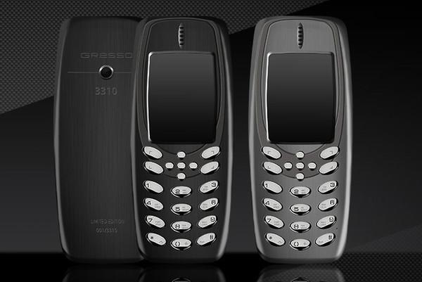 奢华版诺基亚3310现身:钛合金材质 售2万元