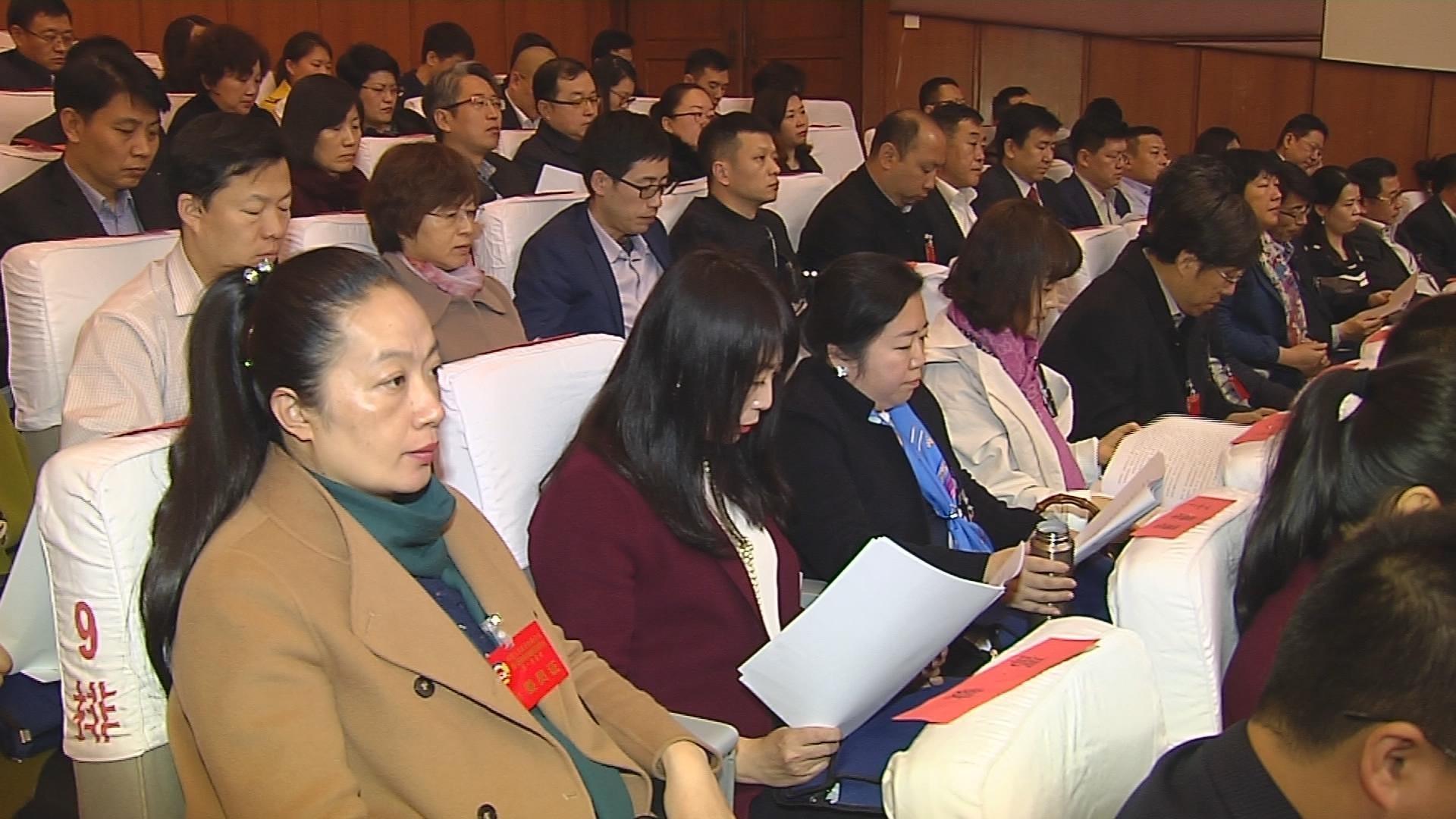 青岛城阳区第六届人民代表大会第一次会议举行第二次