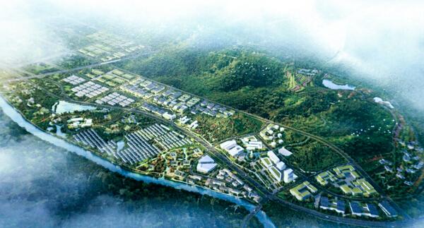 吴兴美妆小镇规划图-从浙江走向全国 特色小镇有什么魅力使它备受青睐图片