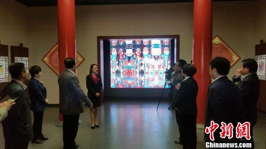 河北武强年画博物馆三次改陈开馆让年画历史场景再现