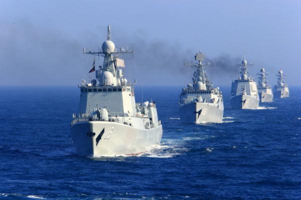 中国海军舰艇编队赴夏威夷参加演习