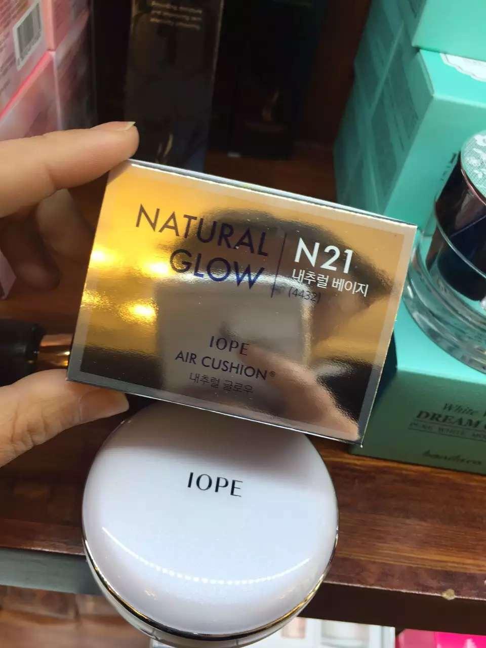 韩国化妆品赫拉和亦博气垫bb霜真假对比