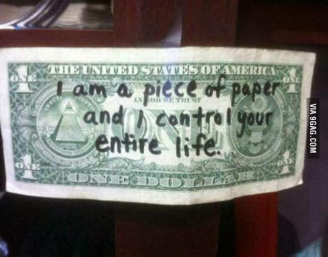 我只是一张纸,但我能控制你整个人生
