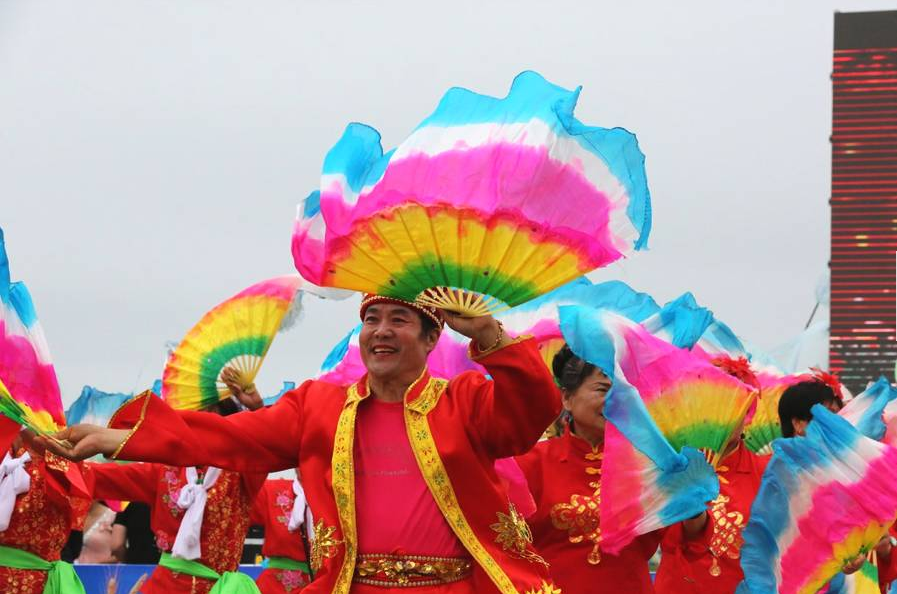 """""""北方秧歌城""""富锦 做大秧歌文化 打造文化名城"""