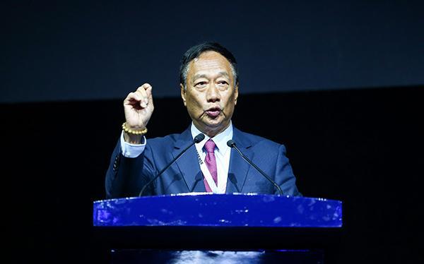 鸿海集团总裁郭台铭。(图片来源网络)