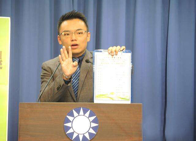中国国民党文传会副主委洪孟楷。(图片来源:中评社)