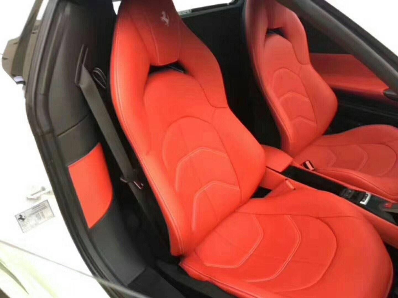 黄江豪车,2018款德版全新法拉利488只需200多万