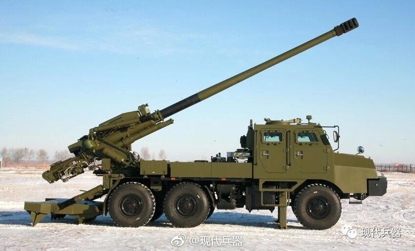 西藏军区155毫米卡车炮曝光 中印对峙期间列装