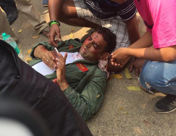 印度空军1个月内接连4次坠机 这回还是一摔两架