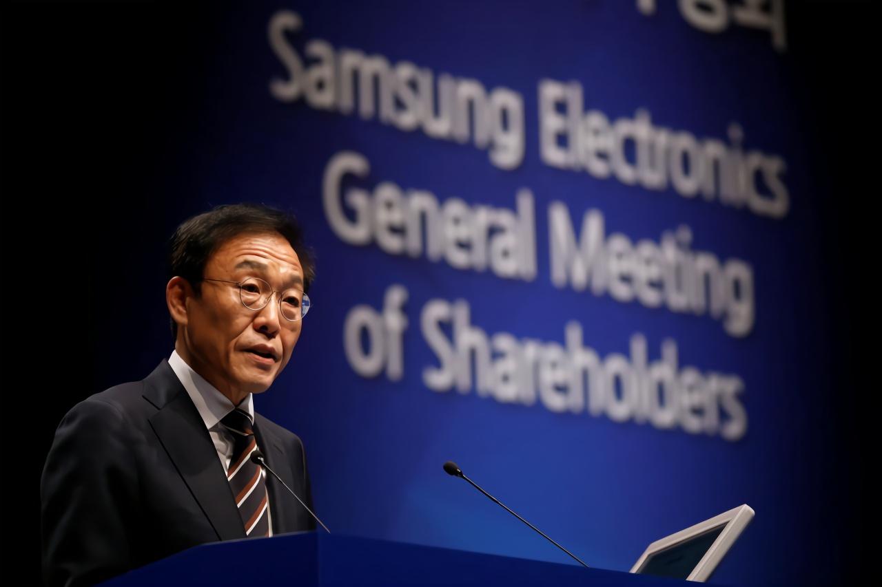 三星电子联席CEO:公司的存储芯片等零部件业务预计将面临艰难一年