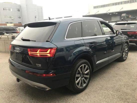 进口2019款奥迪Q7现车 天津港特