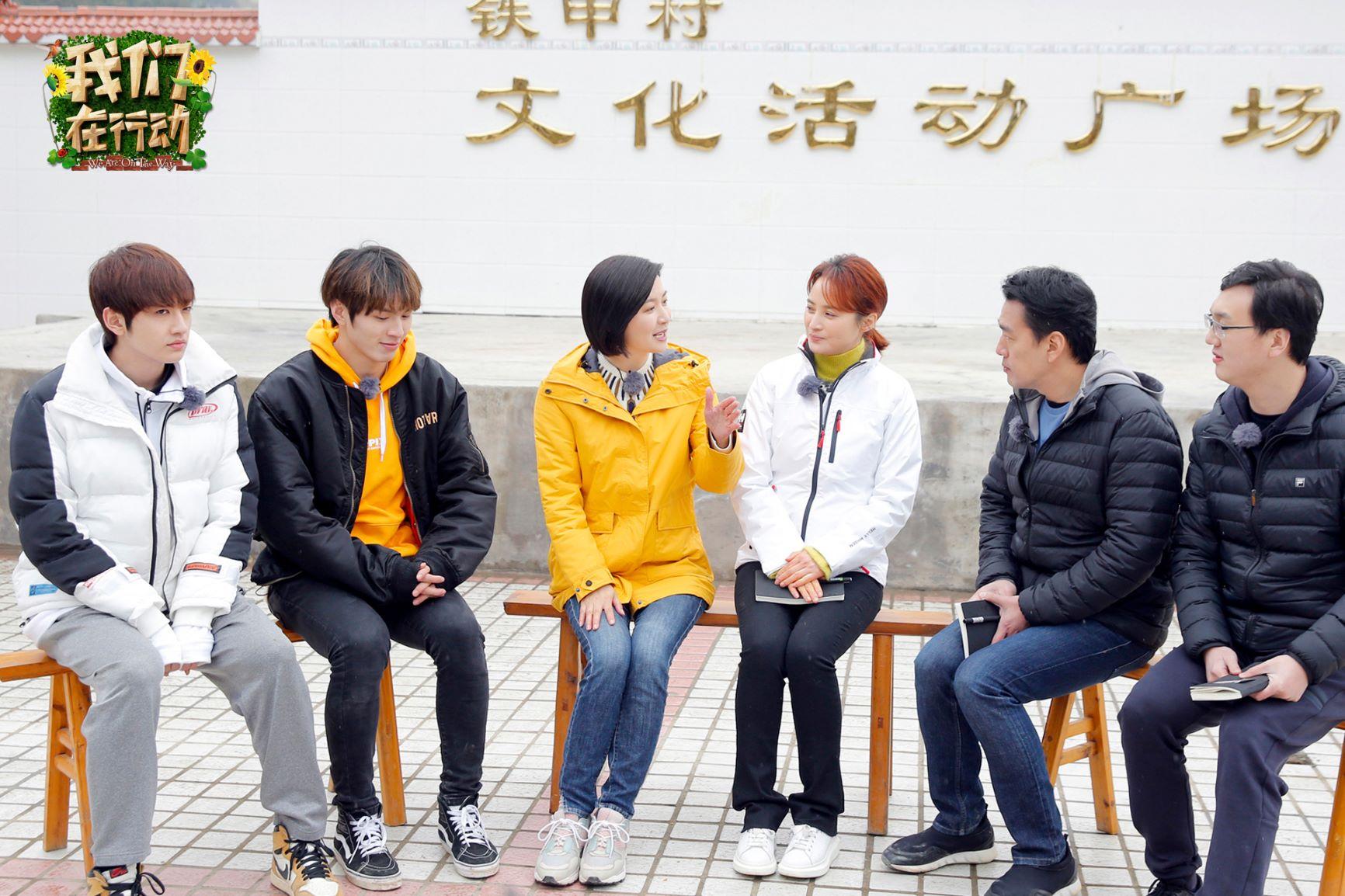 《我们在行动》王耀庆深入市场 蒋勤勤谈扶贫感受痛哭