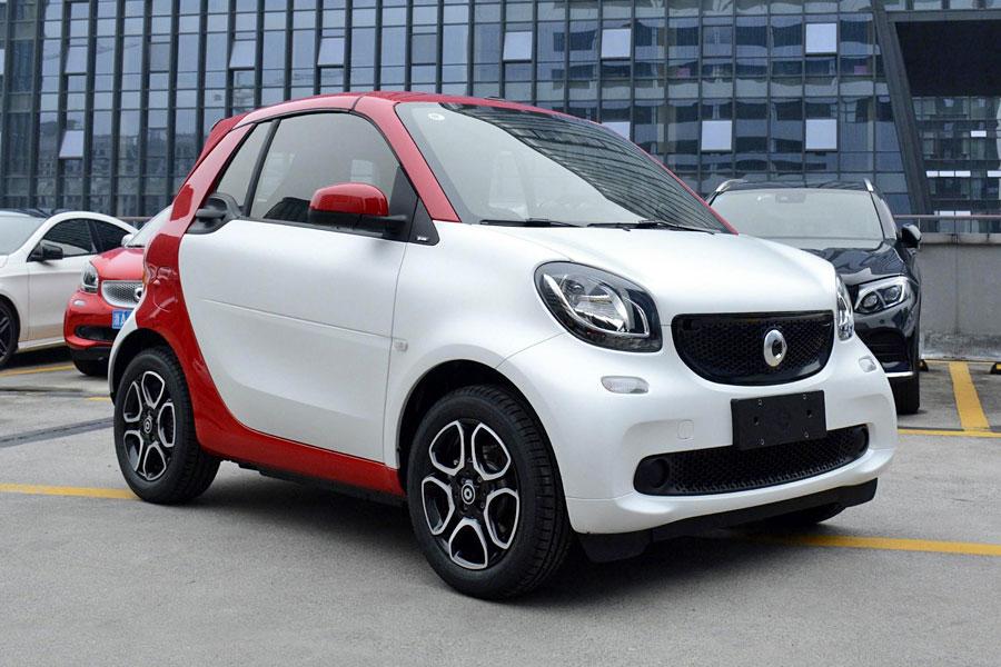 smart fortwo新增车型上市