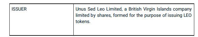 圈重点,一文读懂Bitfinex的LEO新版白皮书