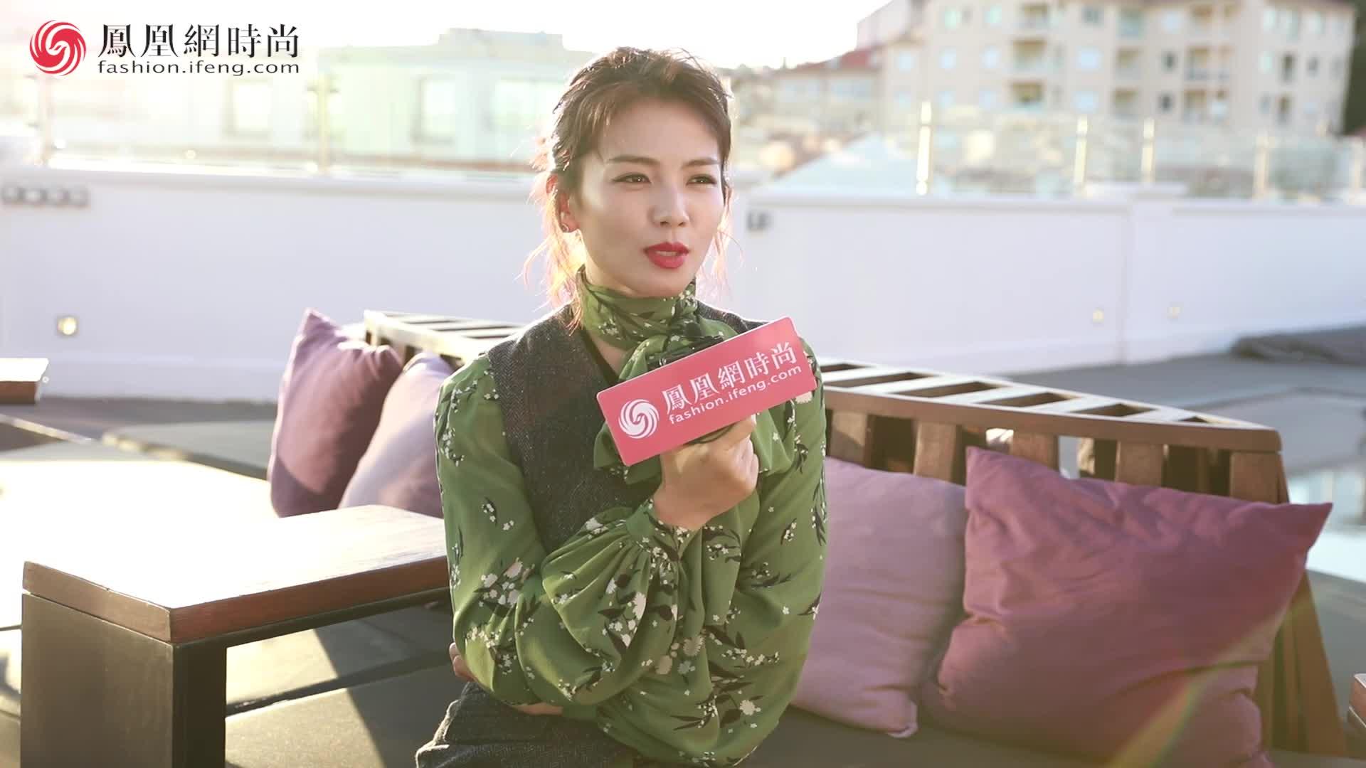 戛纳专访刘涛:现在还不是我最满意的体重