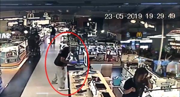 法国男子在泰国偷华为P30 Pro 当场被抓
